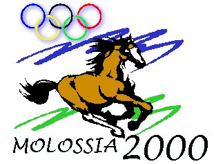 Molossia 2000 Olympic Symbol