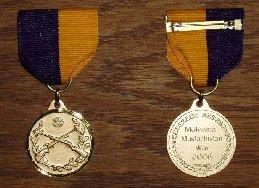 Molossia - Mustachistan War Medal